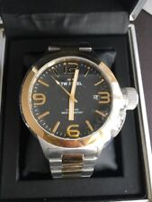 TW Steel: CB41. 45mm. Black Face. Gold & Silber. Bnwt.