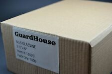 "lot of 1000 - # 5 GLASSINE ENVELOPES 3 1/2 x 6"" GUARDHOUSE STAMP COLLECTING"