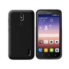 Cover para Huawei Y625, in silicone TPU transparente Negro