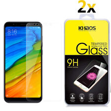 2-Pack Khaos For Xiaomi Redmi 5 Plus Tempered Glass Screen Protector