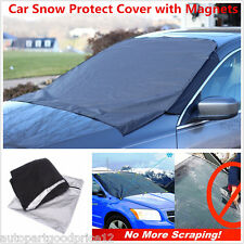 Car Truck Snow Protect Cover Magnet Windshield Ice Sun Frost Protector Tarp Flap