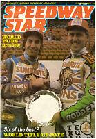 Speedway Star Magazine - June 14 1986