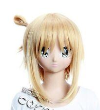 W-197 Kore wa zombie Desu ka yuki yoshida cosplay perruque wig anime Blond Blonde