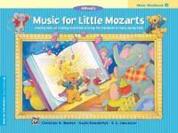ALFRED'S MUSIC FOR LITTLE MOZARTS, MUSIC WORKBOOK 3 - BARDEN, CHRISTINE H./ KOWA