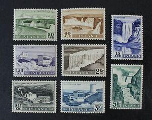 CKStamps: Iceland Stamps Collection Scott#289-296 Mint NH OG