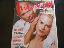 David Bowie, Nicole Kidman, Ed Harris, Olivia Wilde - Interview Magazine 2003