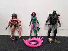 Marvel Legends Blink Skullbuster & Weapon X Wolverine From Caliban BAF Wave Lot