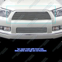Fits 2010-2013 Toyota 4Runner Main Upper Billet Grille Grill Insert