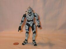 Halo 3 White Spartan Soldier Hayabusa Action Figure; By McFarlane Toys