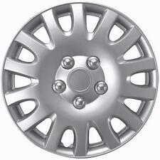 "1 Piece of 14"" Inch Silver Hub Caps Full Lug Skin Rim Cover for OEM Steel Wheels"