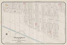 1913, GOAD, MONTREAL, CANADA, LITTLE RIVER ST. PETER COURSE, COPY PLAT ATLAS MAP