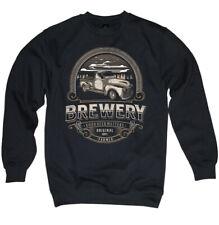 Hot Rod Sweater Pullover Truck Pick Up Kustom Beer Whiskey Brewer V8 Herren -3XL