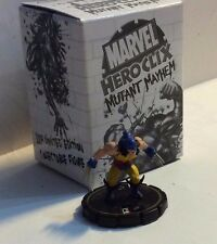 HeroClix MUTANT MAYHEM #215  LOGAN LE GOLD RING LIMITED EDITION  WOLVERINE + BOX