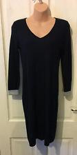 White Stuff Navy Jumper Style Dress Size 8