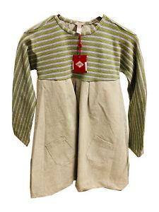 Oilily® Kleid Mädchen Gr.128 grün gemustert NEU