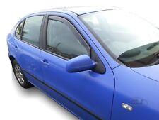 SEAT LEON MK1 5 door 1999-2005 Front wind deflectors 2pc set TINTED HEKO
