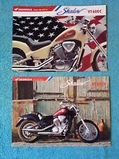 HONDA, Genuine Sales Brochure, Job Lot x 2, Shadow VT600C, VT 600 C, 1994
