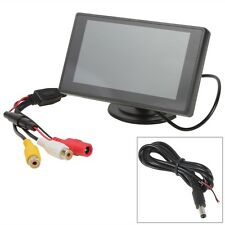 "4.3"" Car TFT Digital LCD Monitor Car Rear View backup screen Parking Reverse"