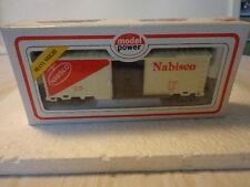 NIB MODEL POWER  HO SCALE NABISCO BOX CAR W/ SLIDING DOOR