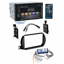 Planet Audio Car Radio Double Din Dash Kit Bose Harness for 02-04 Nissan Altima