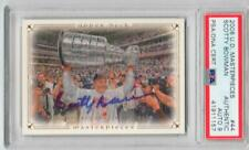 Scotty Bowman Red Wings signed 2008 UD Upper Deck Masterpieces Card PSA/DNA auto