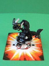 Bakugan Iron Dragonoid black Darkus 880G Mechtanium Surge S4