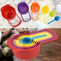 5/6Pcs Plastic Measuring Spoon Set Sugar Cake Milk Baking Kitchen Gadget Tool