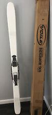 Voile Award Winning Backcountry 177 cm skis, Voile Switchback bindings Telemark
