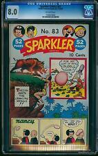 Sparkler Comics #83 CGC VF 8.0 Off-White