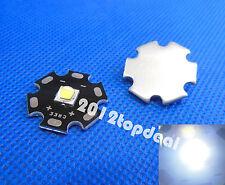 5pcs Cree XLamp XML L2 10W LED Emitter White 6000k Color + 20mm black Star Base