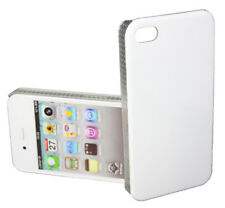 Clip On Cover für Apple iPhone 4 4S in weiss Rückschale BackCover weiß white Bag