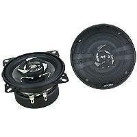 "4"" 4inch Car Audio Stereo Speakers PAIR 150w Coaxial Sub Zero Ice BRAND NEW"