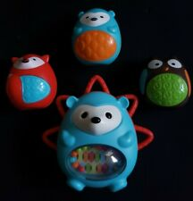 SKIP HOP Baby Toy Egg Shaker Trio Set of 3 and Rattle Dexterity Toy