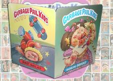 1986 GARBAGE PAIL KIDS school Folder #8 Babbling Brook/ Pat Splat MINT Topps