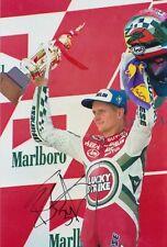 Kevin CAL Firmato a Mano 12x8 foto-MotoGP AUTOGRAFO 1.