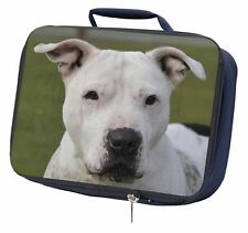 American Staffordshire Bull Terrier Dog Navy Insulated School Lunch , AD-SBT5LBN