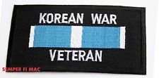KOREA WAR VETERAN HAT PATCH US ARMY MARINES NAVY AIR FORCE COAST GUARD UN GIFT