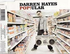 DARREN HAYES Pop!ular 4 Tracks OZ CD Single
