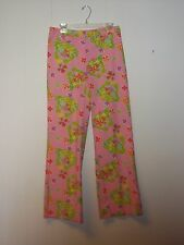 LILLY PULITZER Pants  SPRNG GOLF BEACH SHORE  COTTON SZ 8 PINK LIME GREEN CRABS