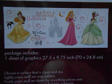 Disney Princesses Peel & Stick Halloween Wall Art Have a Magical Halloween New