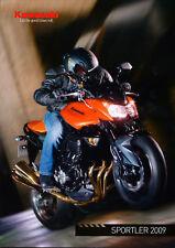 Kawasaki Prospekt 2009 brochure Z 750 1000 Broschüre Motorrad brosjyre broschyr