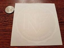 Nightforce Sticker white authentic sticker DEVGRU Sniper SWAT