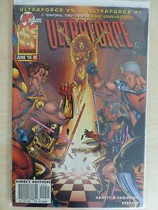 "Ultraforce Issue 9 ""First Print"" - 1996 Malibu Comics"
