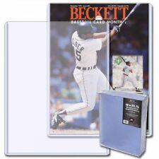 (50) BCW Magazine Topload Holder - 9 X 11.5 x 5MM BECKETT