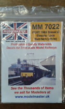 More details for post 1964 blue b.r.diesel & electric loco letters/numbers modelmaster mm7022