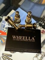 4 x Metallventile Chrom Stahlventile universal PKW Felgenventile 11,3 mm EU Ware