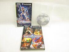 CUSTOM ROBO Battle Revolution Item Ref/bbbc Game Cube Nintendo Japan Game gc