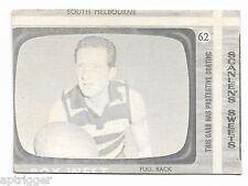 1967 Scanlens (62) Roy WEST Geelong & (8) Man From U.N.C.L.E. Rare Error
