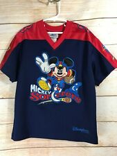 Mickey Sorcerers Disneyland Resort Youth Small Embroidered Jersey Football