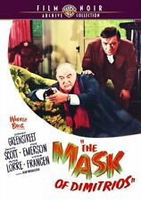 THE MASK OF DIMITRIOS (1944 Peter Lorre) -  Region Free DVD - Sealed